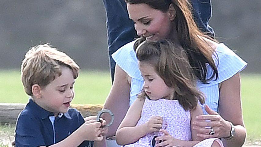 Müde Royals? So früh standen George & Charlotte an Xmas auf