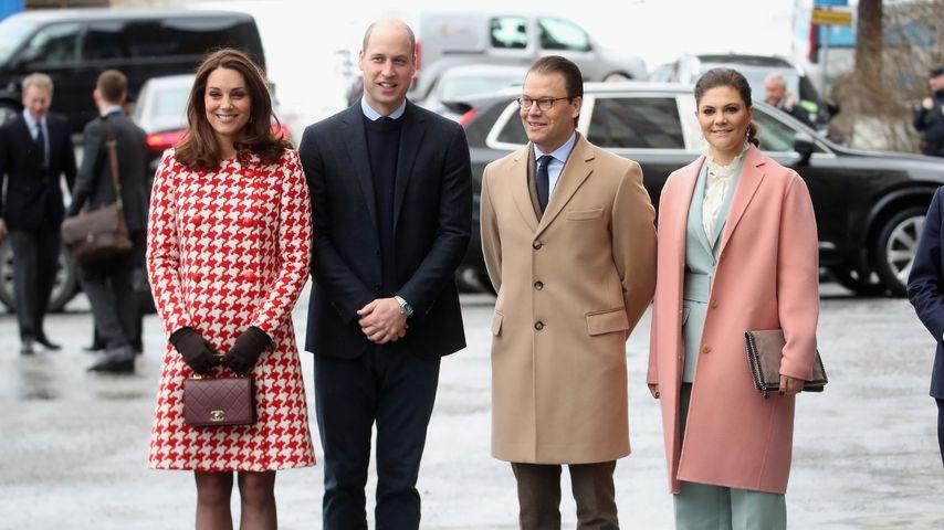 In Schweden: Schwangere Herzogin Kate ausgelassen wie nie!