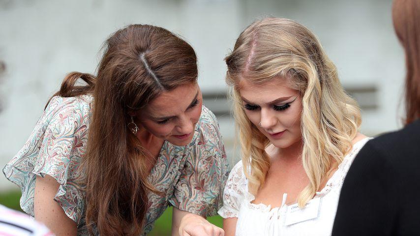 Herzogin Kate bei einem Fotoworkshop im Juni 2019