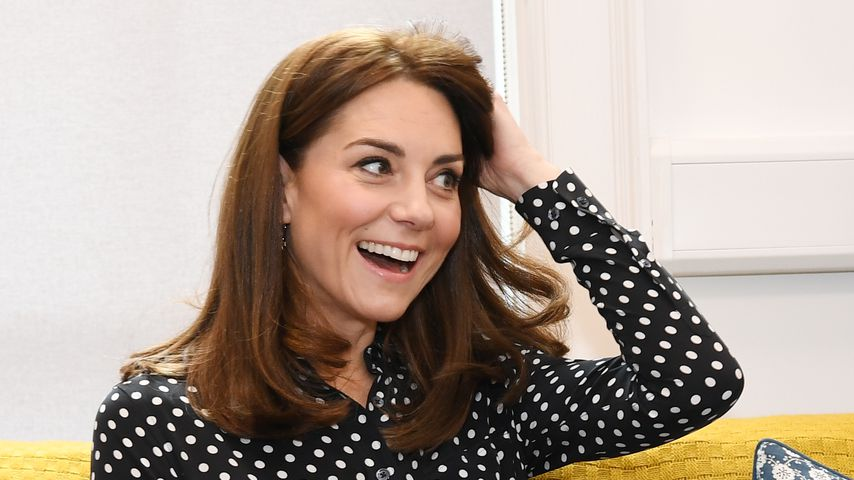 Relaxter Style: Macht sich Herzogin Kate die Haare selbst?