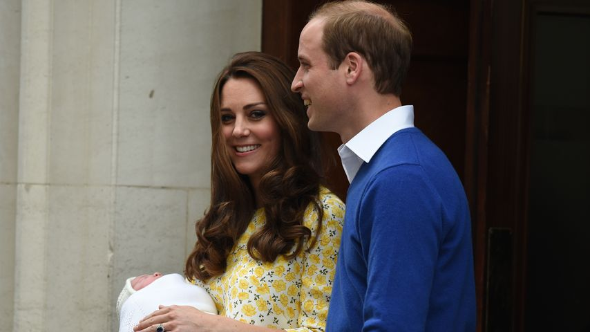 Zu Charlottes Taufe: William & Kate erlauben Publikum!
