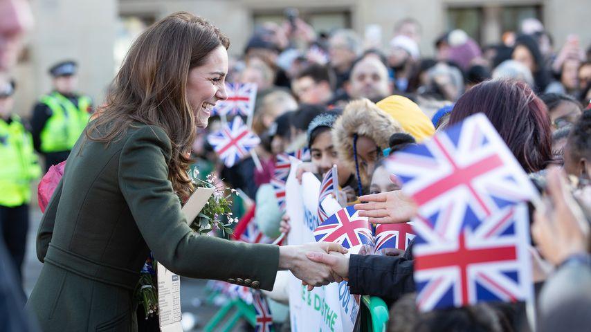 Herzogin Kate bei ihrem Besuch in Bradford