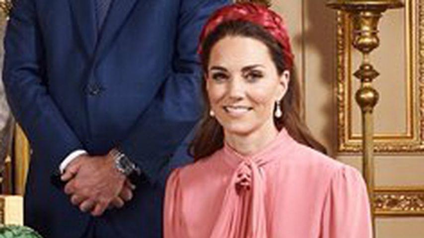 Wie Blair Waldorf: Herzogin Kates Look auf Archies Tauf-Foto