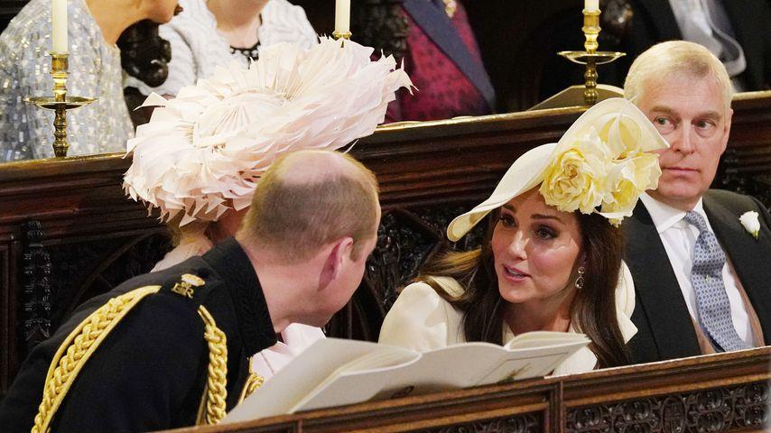 Recyceltes Kleid: Das trug Kate zu Meghan & Harrys Hochzeit