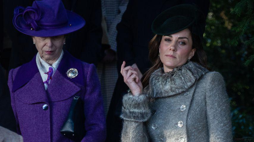 Prinzessin Anne und Herzogin Kate, Dezember 2019