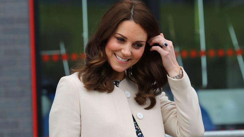 Nach Papa William: Sie sah Kates Baby als eine der ersten!