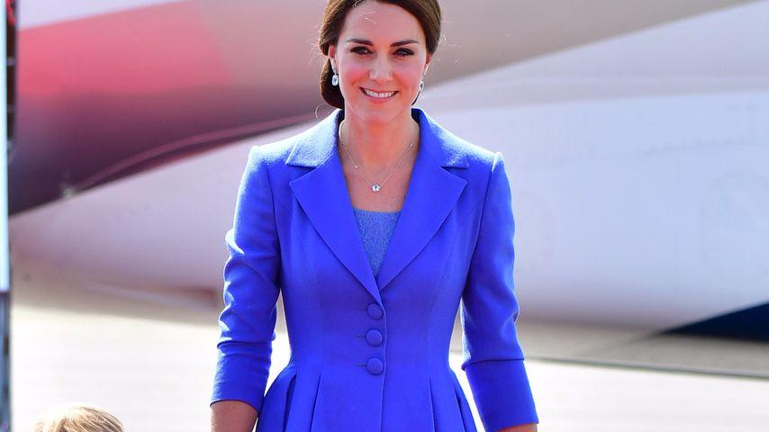 Europa-Blau: Herzogin Kate super-elegant bei Berlin-Besuch!
