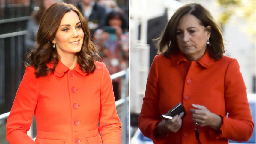 Collage: Herzogin Kate und Carole Middleton