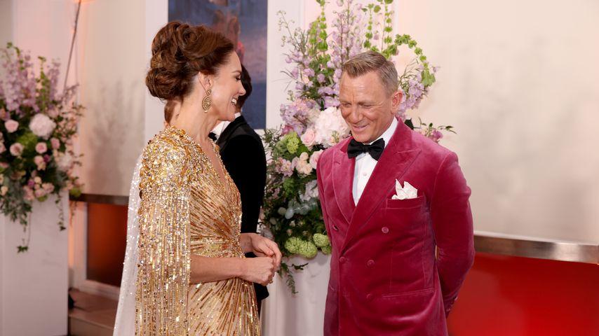 """Herzogin Kate und Daniel Craig bei der Weltpremiere von """"No Time To Die"""""""
