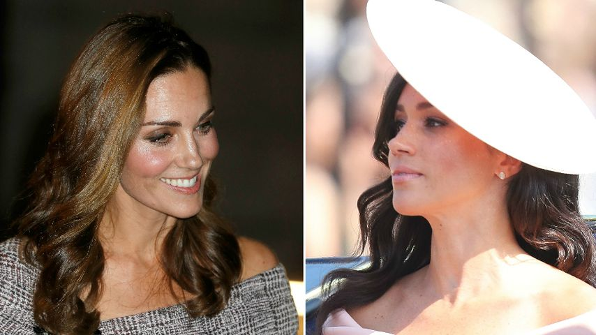 Royal-Schulterlook: Hat Herzogin Kate bei Meghan abgeschaut?