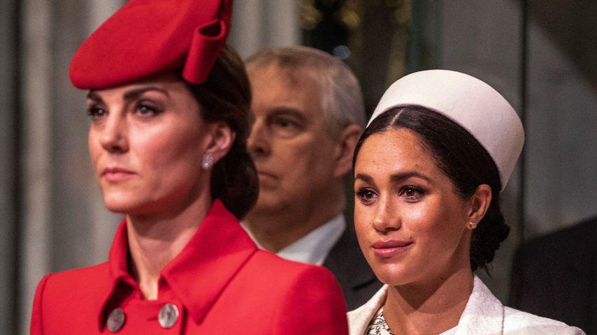 Beziehungen der Queen zu Kate & Meghan sind unterschiedlich