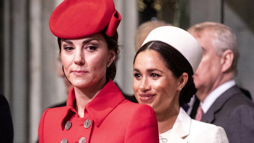 Herzogin Kate und Herzogin Meghan im März 2019