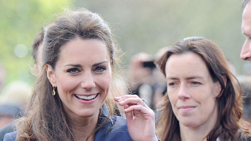 Herzogin Kate und ihr weiblicher Bodyguard Emma Probert