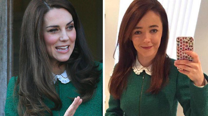 Verrückt! Diese Frau kleidet sich genau wie Herzogin Kate