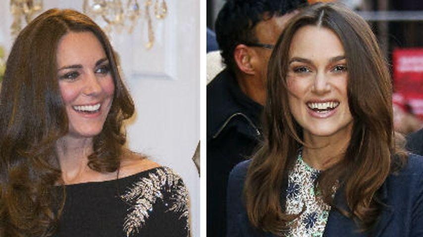 Huch! Keira Knightley sieht aus wie Herzogin Kate