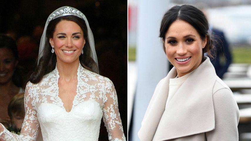 Wie bei Herzogin Kate: Zwei Brautkleider für Meghan Markle?