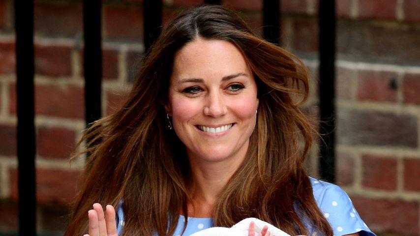 Herzogin Kate und Prinz George, London 2013