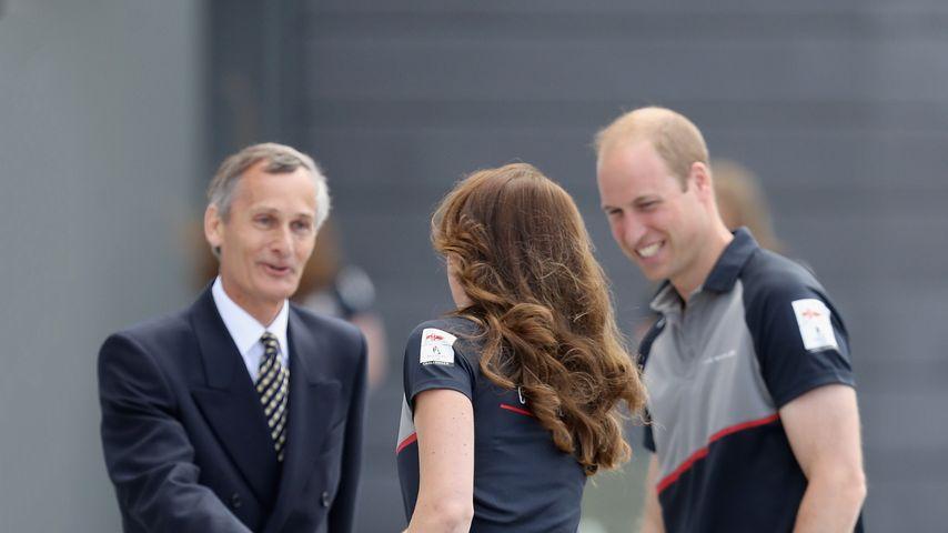 Herzogin Kate und Prinz William bei den America's Cup World Series