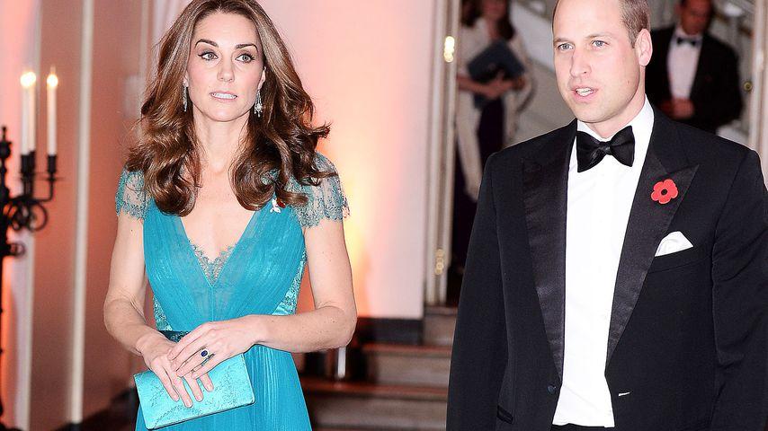 Herzogin Kate und Prinz William bei den Tusk Conservation Awards 2018 in London