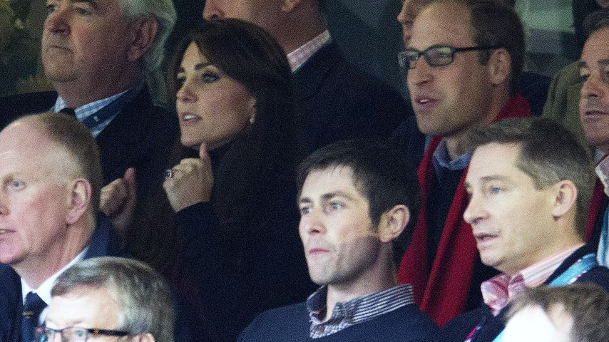Kate & William: Royales Mitfiebern beim Rugby-Spiel!
