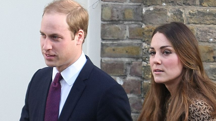 Kein Interesse! William & Kate pfeifen auf Royals