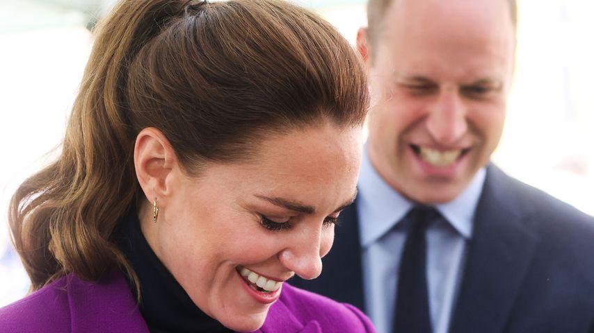 Herzogin Kate und Prinz William in Nordirland, September 2021