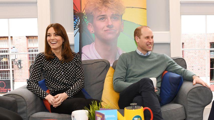 Herzogin Kate und Prinz William in Dublin, 2020