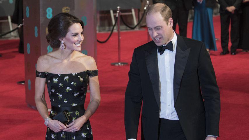 Premiere: William & Kate kommen zusammen nach Deutschland!