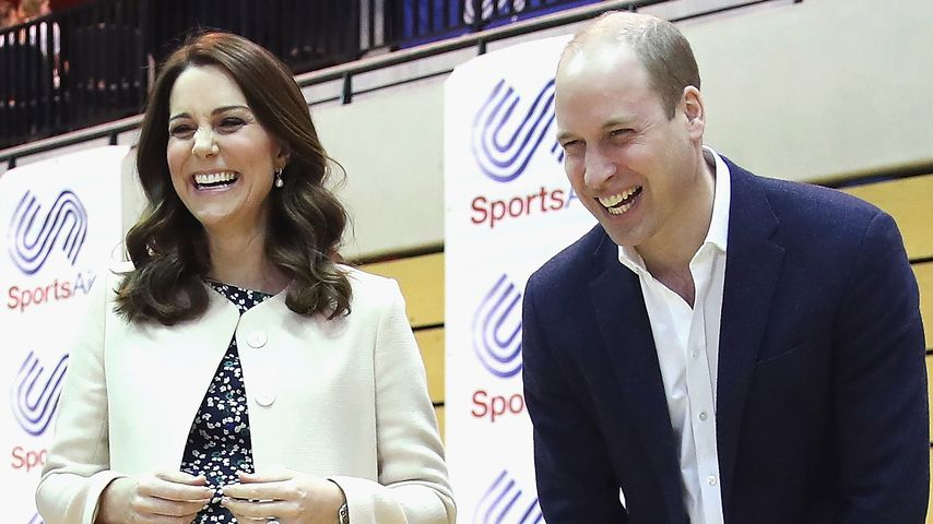 Kate & William schenken George & Charlotte ein Brüderchen!