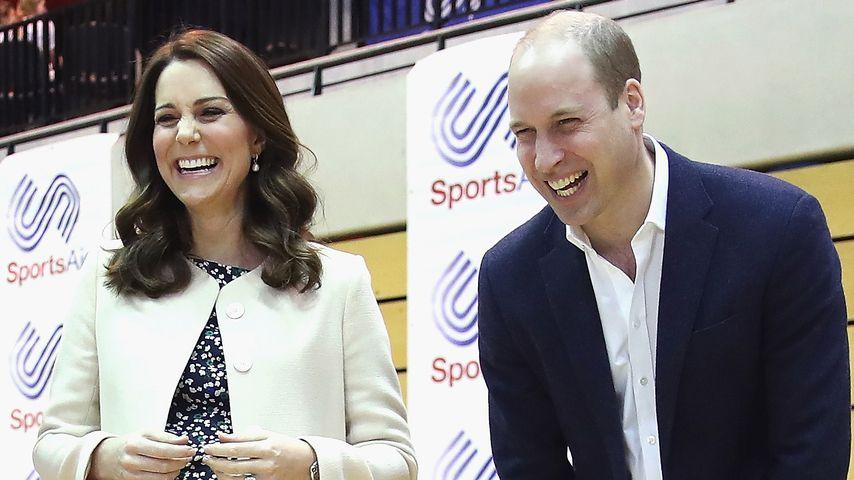 Herzogin Kate und Prinz William im März 2018