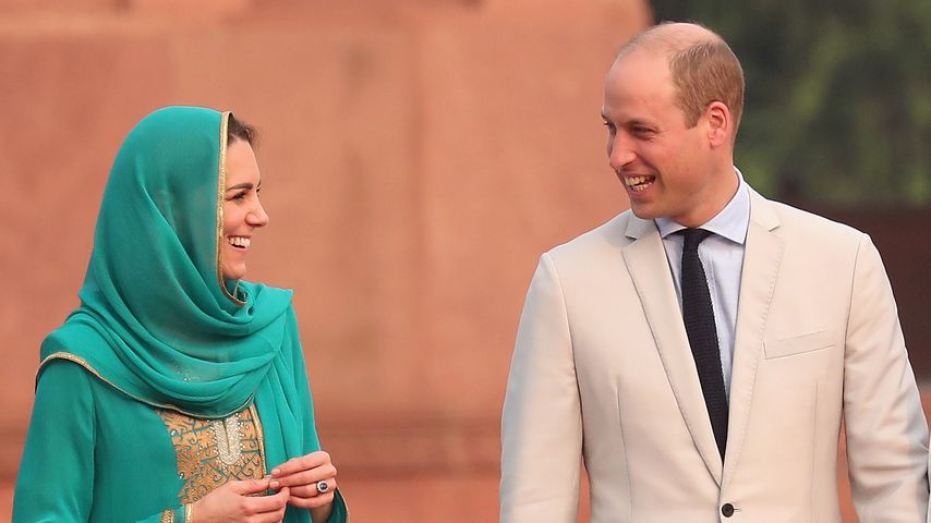 Herzogin Kate und Prinz William in Lahore