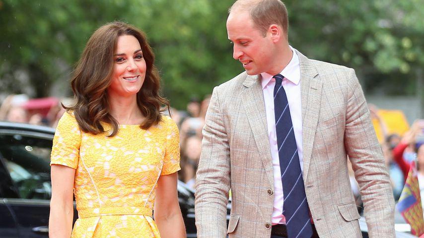 Herzogin Kate und Prinz William im Jahr 2017