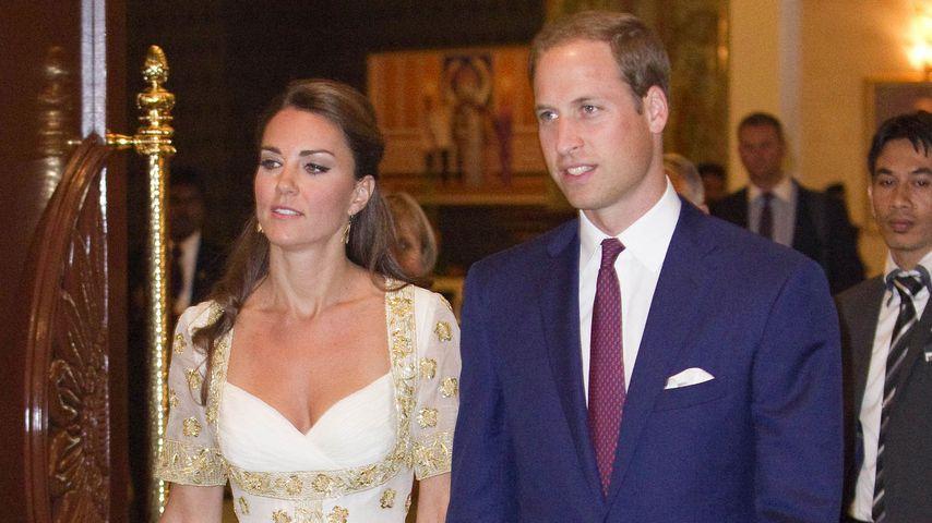 Herzogin Kate und Prinz William in Malaysia 2012