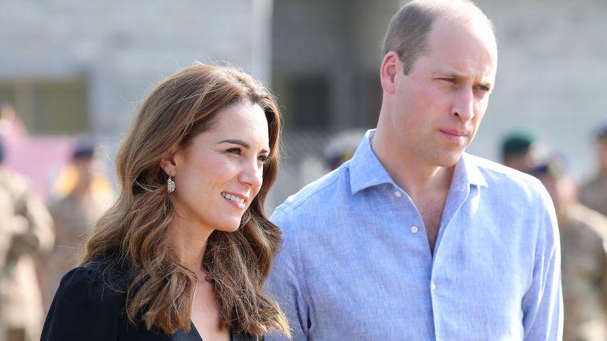 So reagieren Kate und William auf Camilas Stift-Diebstahl