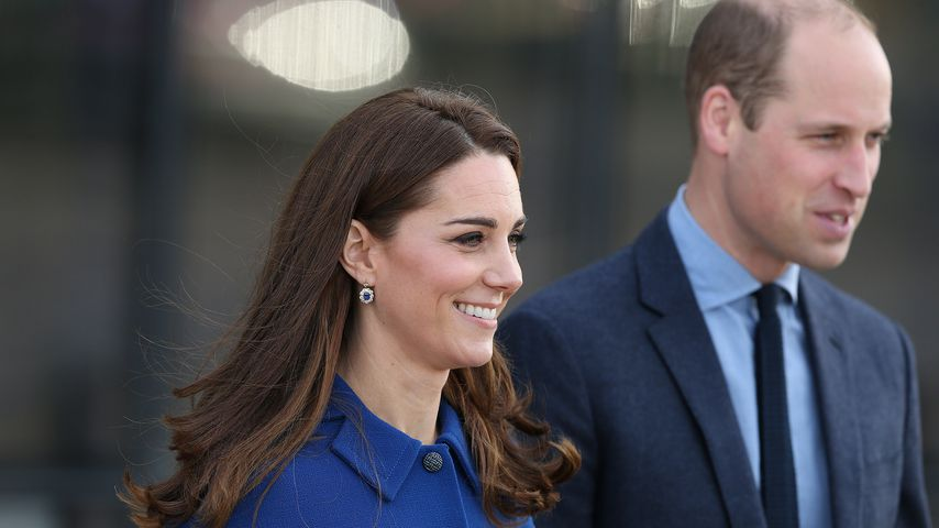 Herzogin Kate und Prinz William in Rotherham, England