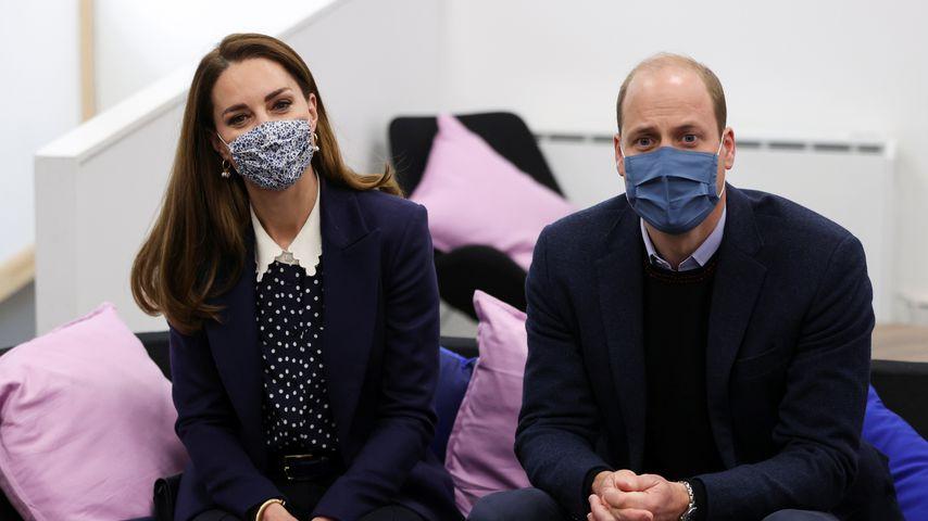 Herzogin Kate und Prinz William, Mai 2021