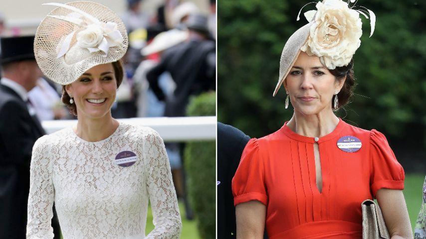 Royale Hutschau: Herzogin Kate trifft auf Prinzessin Mary!