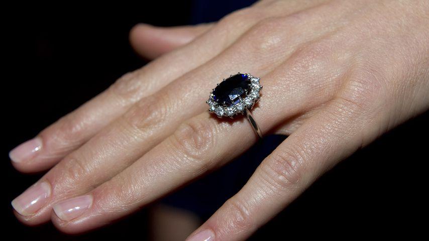 Herzogin Kates Verlobungsring