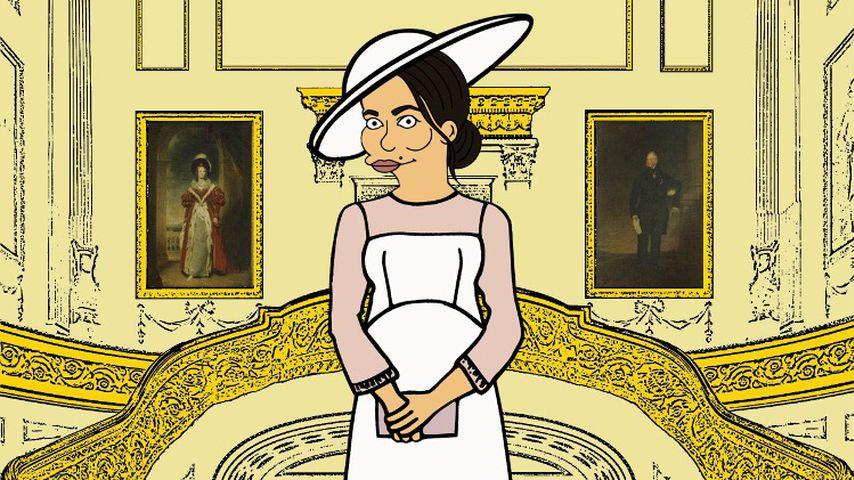 "Herzogin Meghan als ""Simpsons""-Charakter"