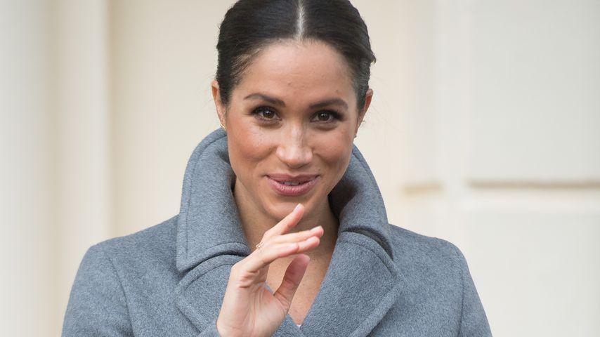 Herzogin Meghan beim Besuch des Brinsworth House in London