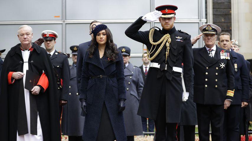Herzogin Meghan und Prinz Harry beim Field of Remembrance