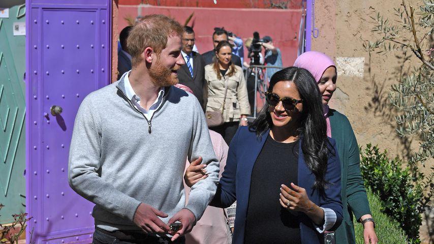 Prinz Harry und Herzogin Meghan an ihrem zweiten Tag im Marokko
