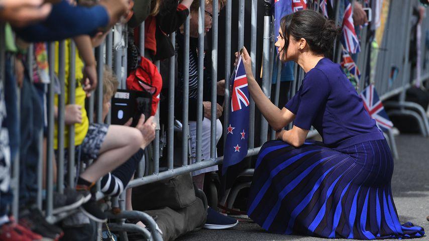 Herzogin Meghan auf Staatsbesuch in Neuseeland 2018