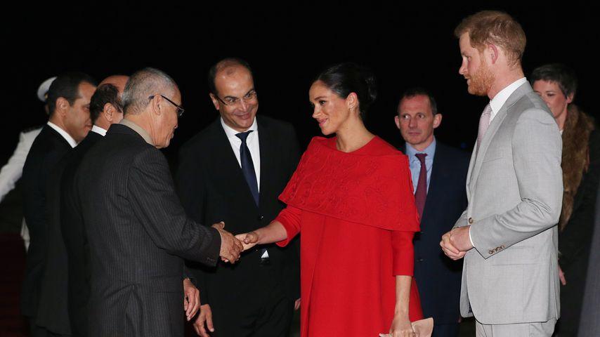 Herzogin Meghan und Prinz Harry in Marokko, 2019