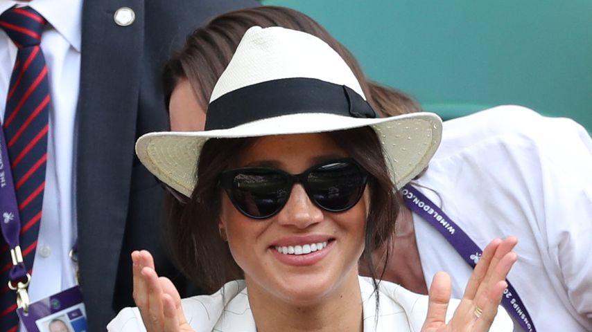 Herzogin Meghan beim Tennisturnier in Wimbledon 2019