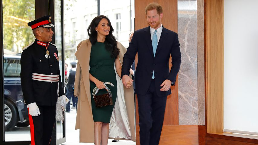 Herzogin Meghan und Prinz Harry in London, 2019