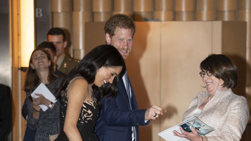 Herzogin Meghan mit Prinz Harry bei den Australian Geographic Society Awards in Sydney