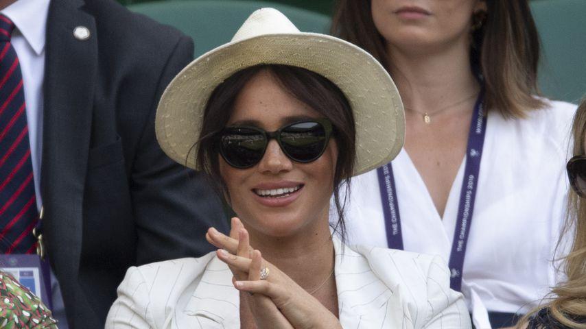 Herzogin Meghan bei der Wimbledon-Meisterschaft im Juli 2019