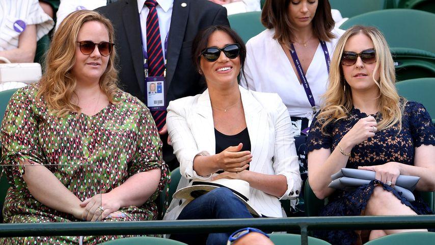 Herzogin Meghan in Wimbledon: Die Fans hatten Foto-Verbot