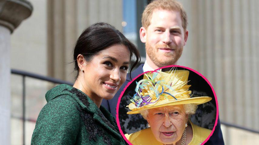 Queen am 93. Geburtstag bei Gottesdienst in Windsor